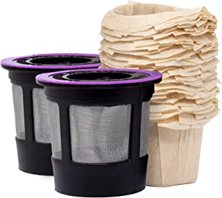 iPartsPlusMore Reusable K Cups and Filters – For Keurig 2.0 & 1.0 Brewers..