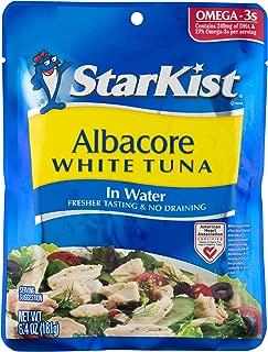 StarKist Albacore White Tuna in Water, 6.4 oz Pouch