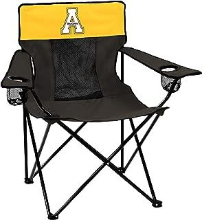 Logo Brands Collegiate Appalachian State Mountaineers Elite Chair, Black, Adult