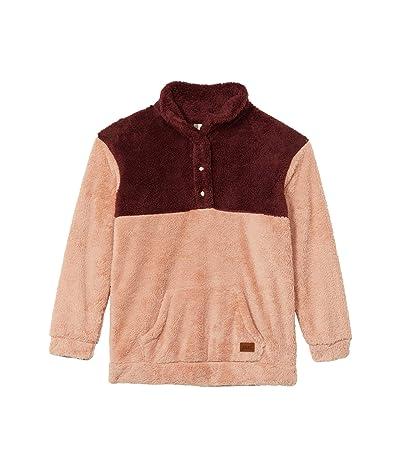 Roxy Kids Dream Escape Fleece Jacket (Little Kids/Big Kids) (Cafe Creme) Girl