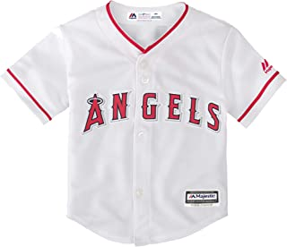 Majestic Shohei Ohtani Los Angeles Angels #17 Youth Cool Base Home Jersey