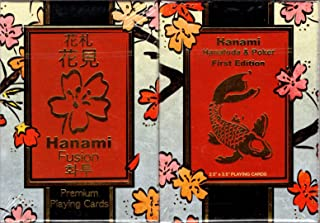 MJM Limited Edition Hanami Fusion Playing Cards (Poker Size)