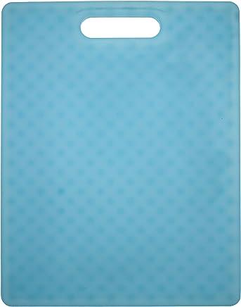 "Architec G14TTQ Original Non-Slip Gripper Cutting Board, 11"" x 14"", Translucent Turquoise"