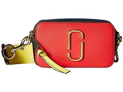 Marc Jacobs Snapshot (Poppy Red Multi) Handbags