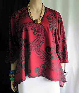 7ee353e7e SPECIAL ORDER Only right now - Polynesian Happy Honu (turtle) flair Top