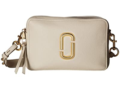 Marc Jacobs The Softshot 27 (Cream) Handbags