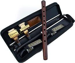 SALE - DUDUK حرفه ای ارمنی، کیف چرم، 2 تیکه حرفه ای، فلوت آبرنگ چوبی، ابو Balaban Woodwind Instrument - کلید Duduk با کیف چرم - بازی آموزش