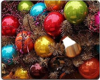 luxlady Gaming Mousepad imagen ID: 19586352 Colorful adornos en una decoración de la Navidad en