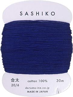 ダルマ 刺し子糸 〈合太〉 カード巻き Col.215 30m 01-2410