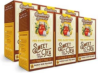 Southern Breeze Sweet Tea Lemon, 16 Count, 4.23 oz (Pack of 6)