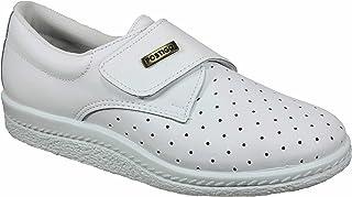 Postigo 1 -Zapato Sanitario Anatómico Velcro Piel Unisex