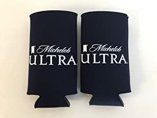 MICHELOB ULTRA - 12oz Slim Can - Beer Can Insulator - 2 Pk