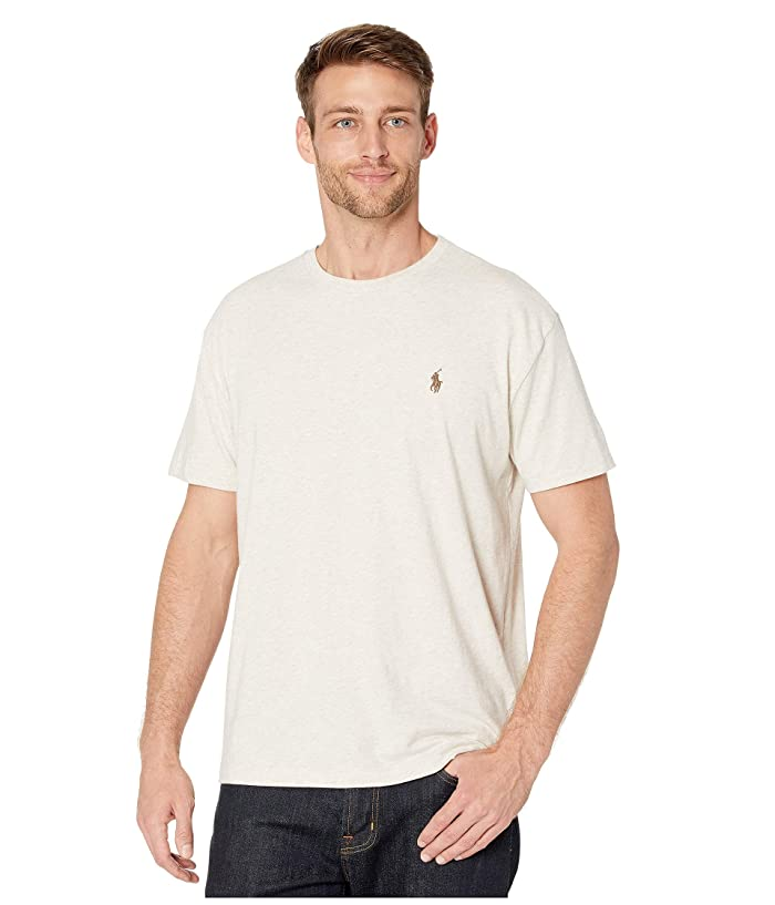 ea7267ab2 Polo Ralph Lauren Short Sleeve Classic Fit Crew Neck Tee | Zappos.com