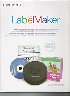 Memorex CD/DVD Labelmaker Kit (32020029065)