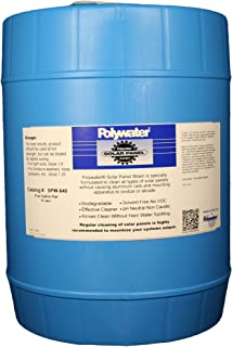 Madison Electric Products SPW-640 Polywater Solar Panel Wash, 5 gal Pail (18.9 Liters)