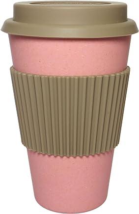 Preisvergleich für NORDAL · Trinkbecher to go ' BAMBOO' 14cm · coral