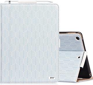 iPad 9.7 ケース iPad Air2 ケース iPad Air ケース,FYY PUレザー スタンド機能 マグネット式 オートスリープ機能対応 ペンホルダー付き 全面保護型 スマートケース 9.7インチipad(2018/2017年モデル)、ipad air(第5世代/第6世代)兼用 (ブルー)