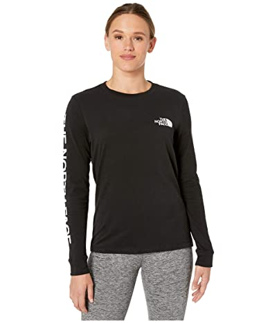The North Face Long Sleeve Brand Proud Tee (TNF Black) Women