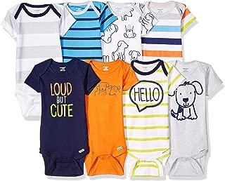 Baby Boys' 8-Pack Short-Sleeve Bodysuit