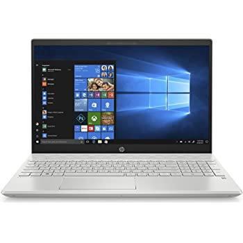 "HP - PC Pavilion 15-cw1085nl Notebook, AMD Ryzen 5 3500U, RAM 8 GB, SSD 512 GB, Grafica AMD Radeon Vega 8, Windows 10 Home, Schermo 15.6"" FHD IPS, Lettore Micro SD, HDMI, USB-C, RJ-45, Webcam, Argento"
