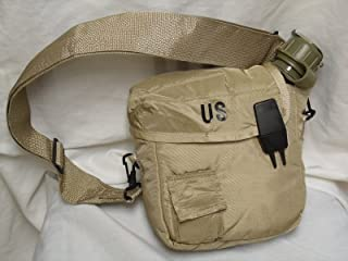 Military issue 2 Quart Water Canteen with New Issue Insulated Carrier and Shoulder Sling
