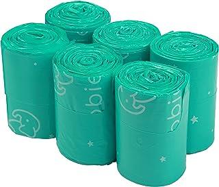 Goobie Baby Diaper Bag Dispenser Refill Rolls of Unscented Disposable Refill Bags