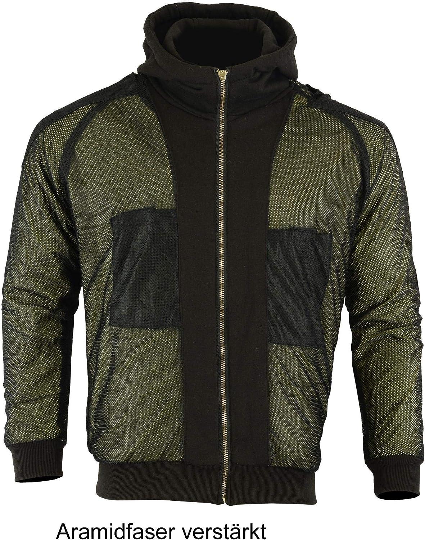 Heyberry Aramid Hoody Motorradjacke Hoodie Roller Jacke Camouflage Gr Xxl Auto