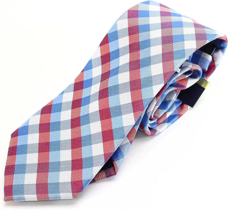 Club Room Men's Multi-Color Gingham Tie