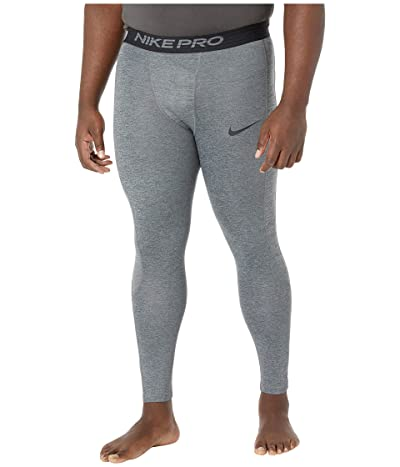 Nike Big Tall Pro 3/4 Tights (Dark Smoke Grey/Particle Grey/Black) Men