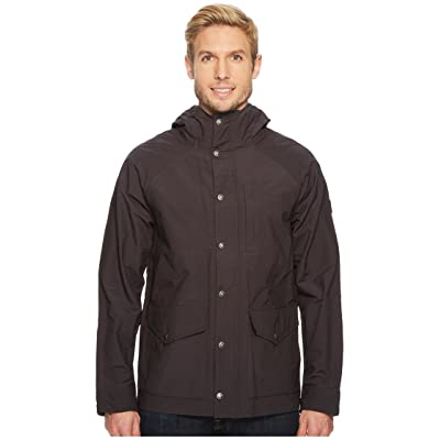 The North Face Waxed Canvas Utility Jacket (Weathered Black) Men