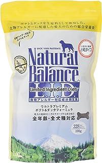 ナチュラルバランス ポテト&ダック 小粒 アレルギー専用 (全犬種/全年齢対応) 1kg