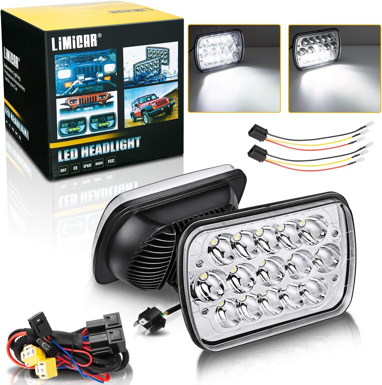 LIMICAR Led Alternative dealer Headlights 7X6 Max 69% OFF 5X7 H H6054