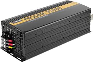 Wagan Black EL3748 12V 10000 Inverter with Remote Control, 20000 Watt Surge Peak, Proline 12 Volt Power Converter for Home RV Camping Van Life Off Grid