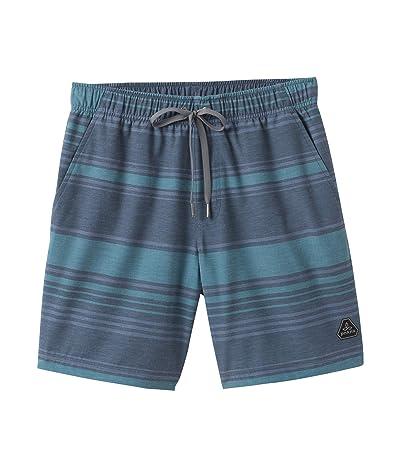 Prana Metric E-Waist Zip Shorts (Atlantic Kai) Men