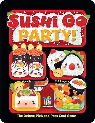 Gamewright Sushi Go Party! - The Deluxe Pick & Pass Card Game product image