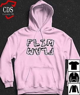 Women Men's Flamingo Flim Flam Light Pink Hoodie T-Shirt, Birthday gift shirt, Gift shirt, Hoodie