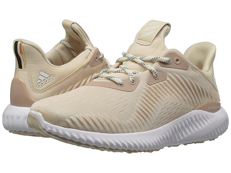 a517832d33a9ce adidas Running Alphabounce 1 (Linen Off-White Ash Pearl) Women s Shoes