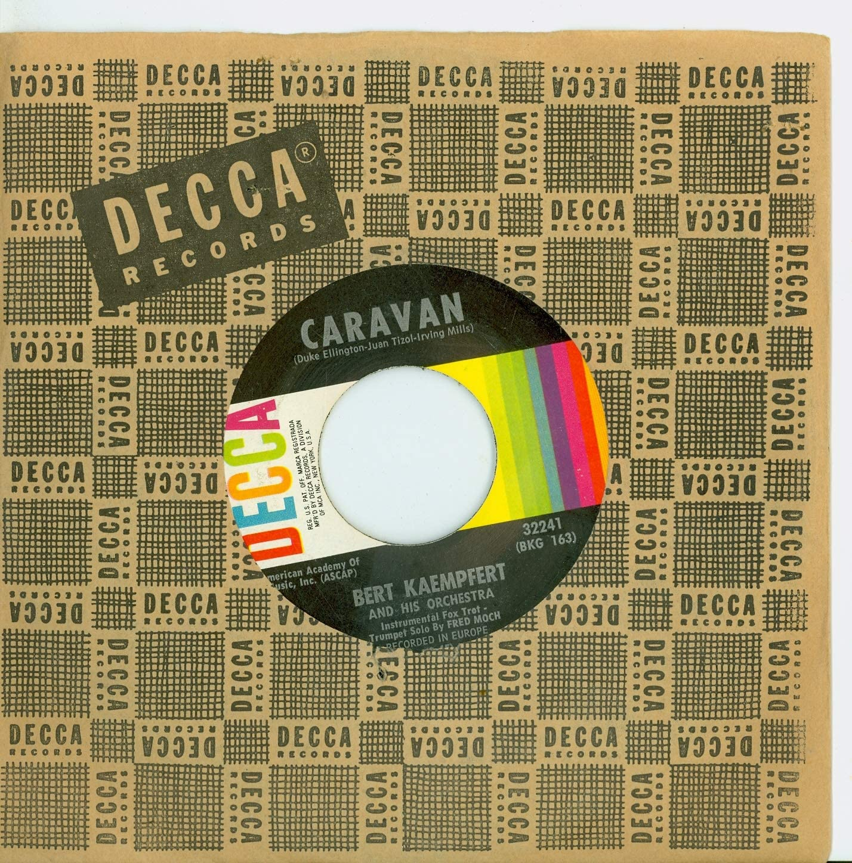 Caravan Melina - Bert Kaempfert Recor And Omaha Boston Mall Mall Orchestra Decca His