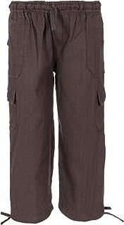 Tumia LAC- Pantaloncini Leggeri per Bambini-100% Cotone- Tessuto Traspirante Comodo- Cordoncino Elastico per la Vita-Vari ...