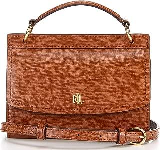 Saffiano Leather Top Handle Belt Bag