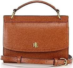 Ralph Lauren Saffiano Leather Top Handle Belt Bag