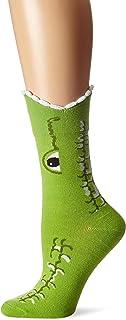 K. Bell Women`s Wide Mouth Leg Eating Novelty Casual Crew Socks