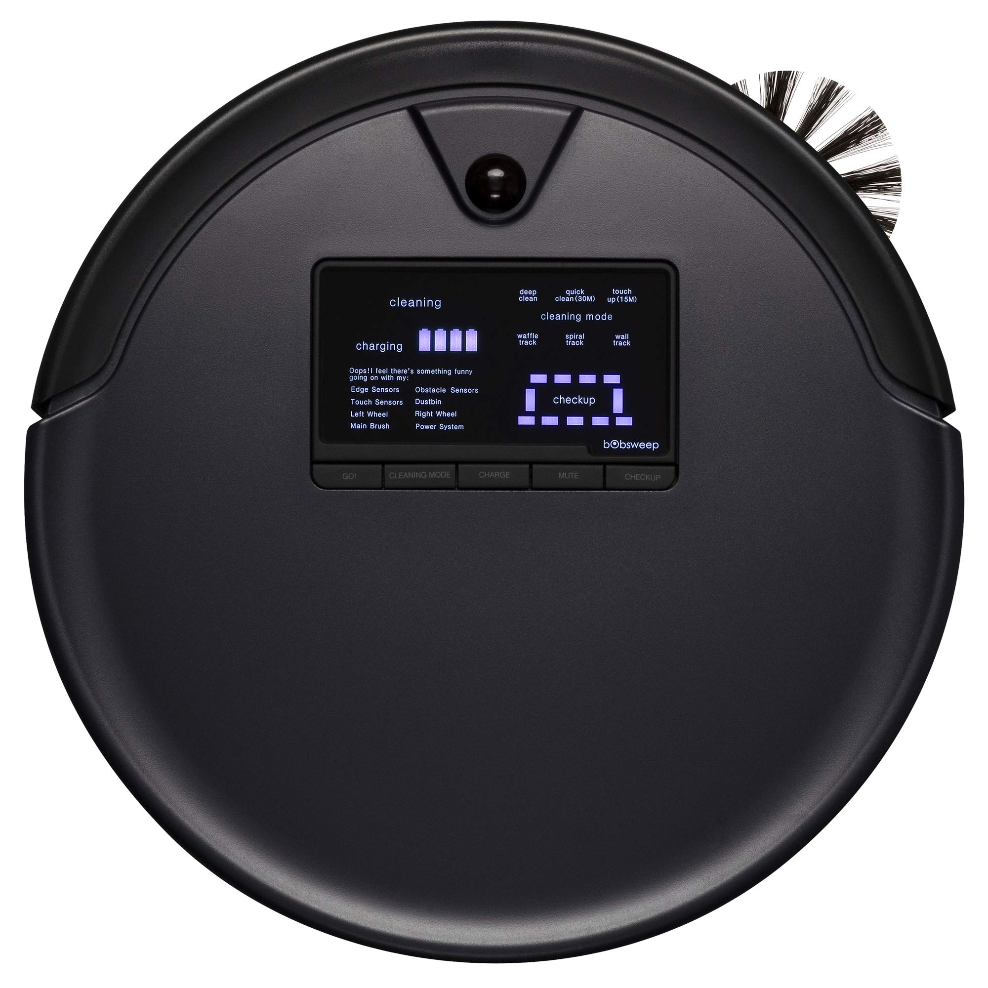 bObsweep Robotic Vacuum Cleaner Midnight