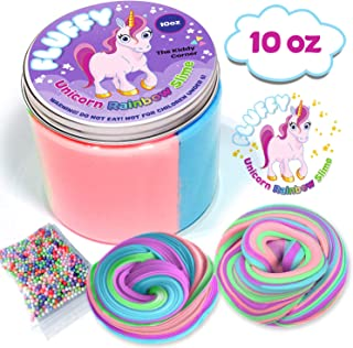 The Kiddy Corner unicorn poop slime kit for girls Get your unicorn scented sludge cloud slime kits. Great gift for girls 10 years. Kids love slime stuff Get your floam putty slimes for arts and craft.