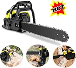 OppsDecor XP2300 58cc Gas Powered Chainsaw, 20 Inch 2 Stroke Handed Petrol Gasoline Chain Saw for Cutting Wood with Tool Kit,Garden Farm Home Use (US Stock) (Light Green)