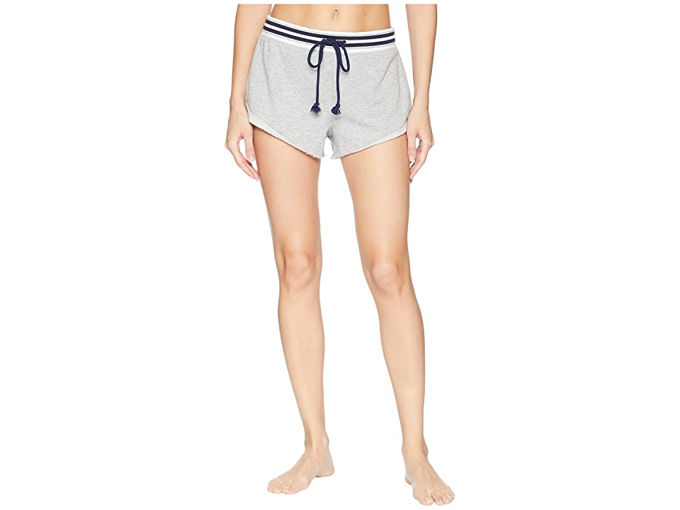 Splendid Pajama Shorts (Light Heather Grey) Women