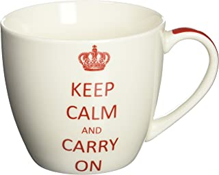 Paperproducts Designs 18-Ounce Mug in Gift Box, X-Large, Keep Calm and Carry On