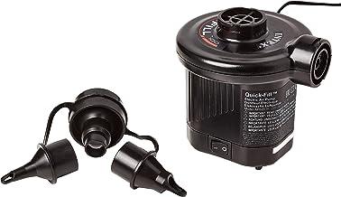 Intex 220-240 Volt Quick-Fill AC Electric Pump, for UK Only, 66620BS, Black