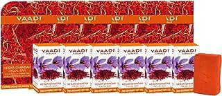 Vaadi Herbals Kesar Chandan Facial Bars with Extract of Orange Peel, 25g (Pack of 6)