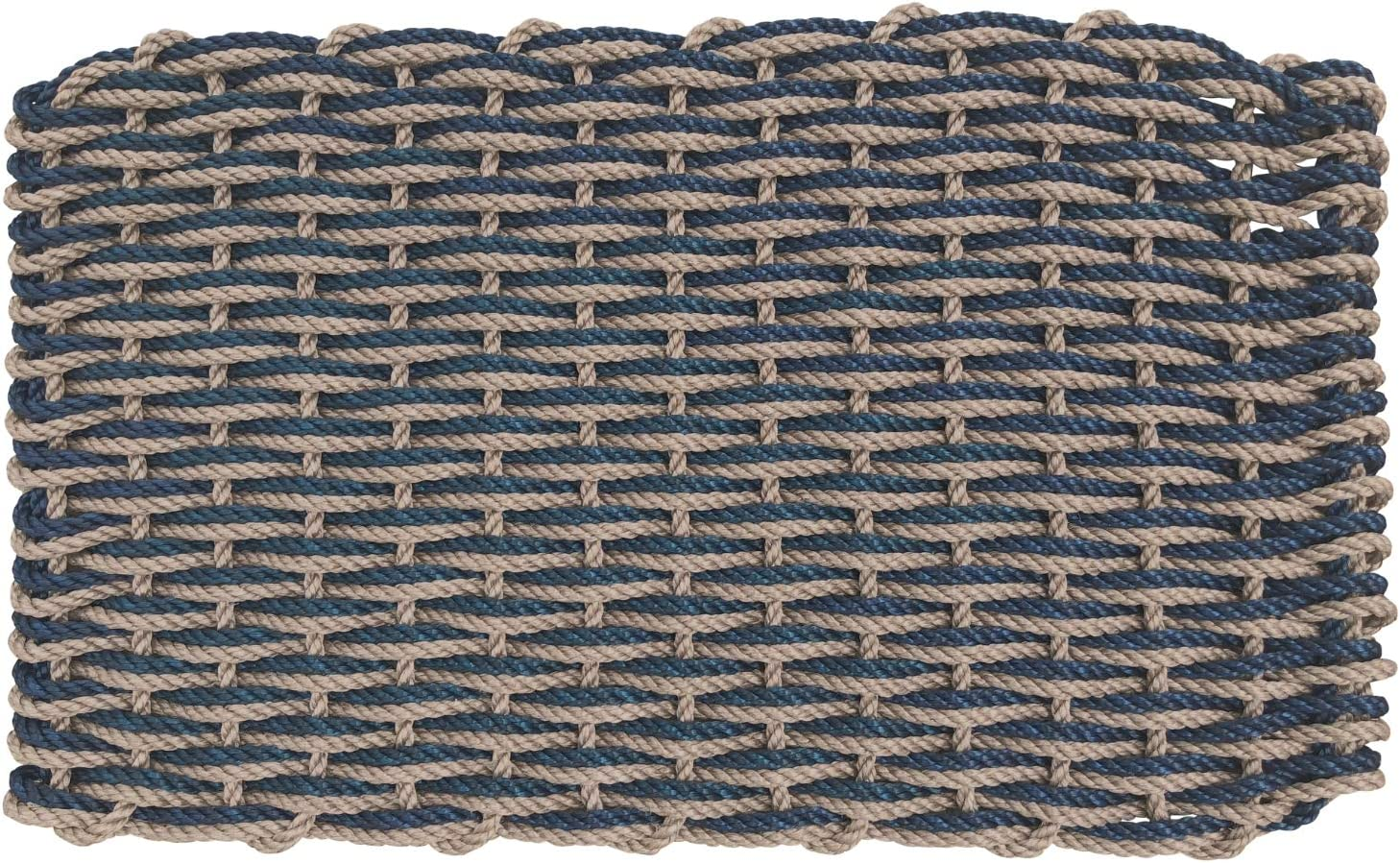 ColorWave Nautical Rope Doormat Surprise price Handwoven Dual overseas Reversible Weave